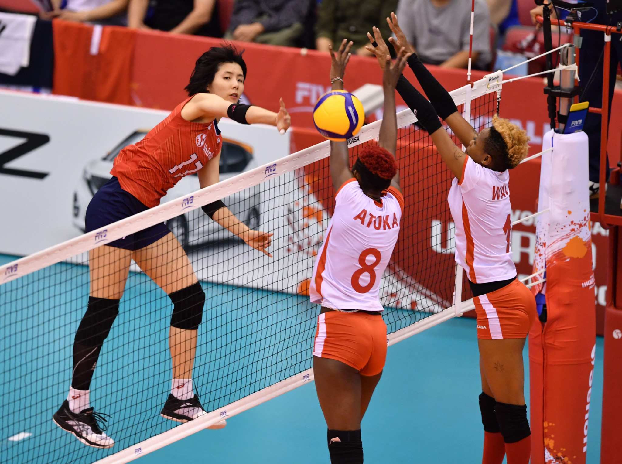 Kenya's women competed at the FIVB Women's World Cup last month ©Getty Images