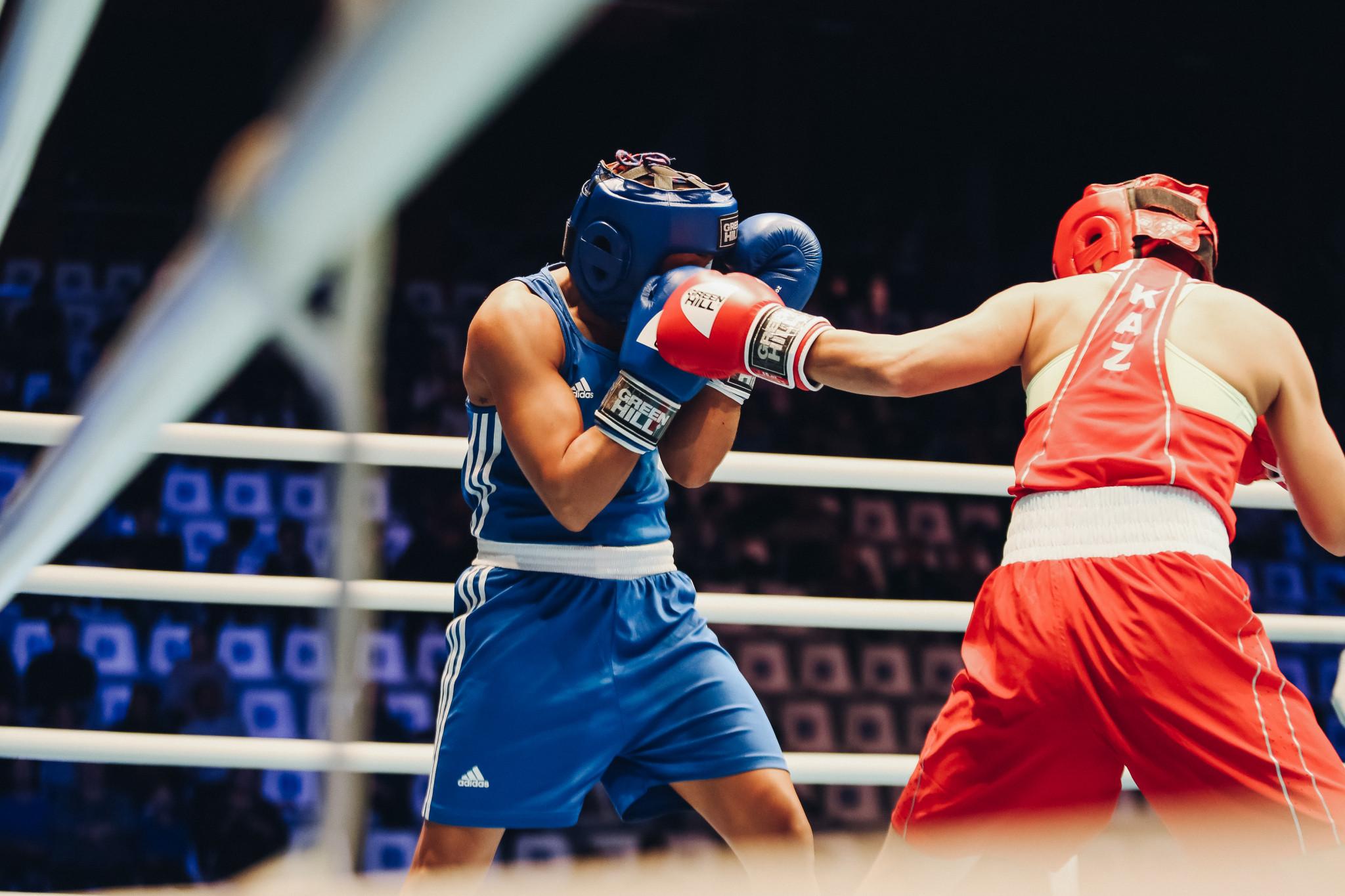 Another Dutch boxer, Jemyma Betrian, narrowly beat Aizhan Khojabekova of Kazakhstan 3-2 ©AIBA