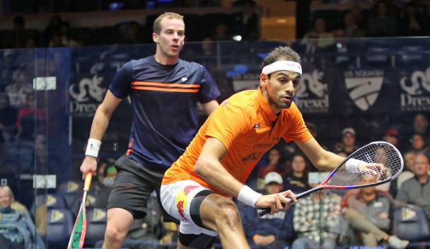 In-form ElShorbagy reaches PSA US Open quarter-finals