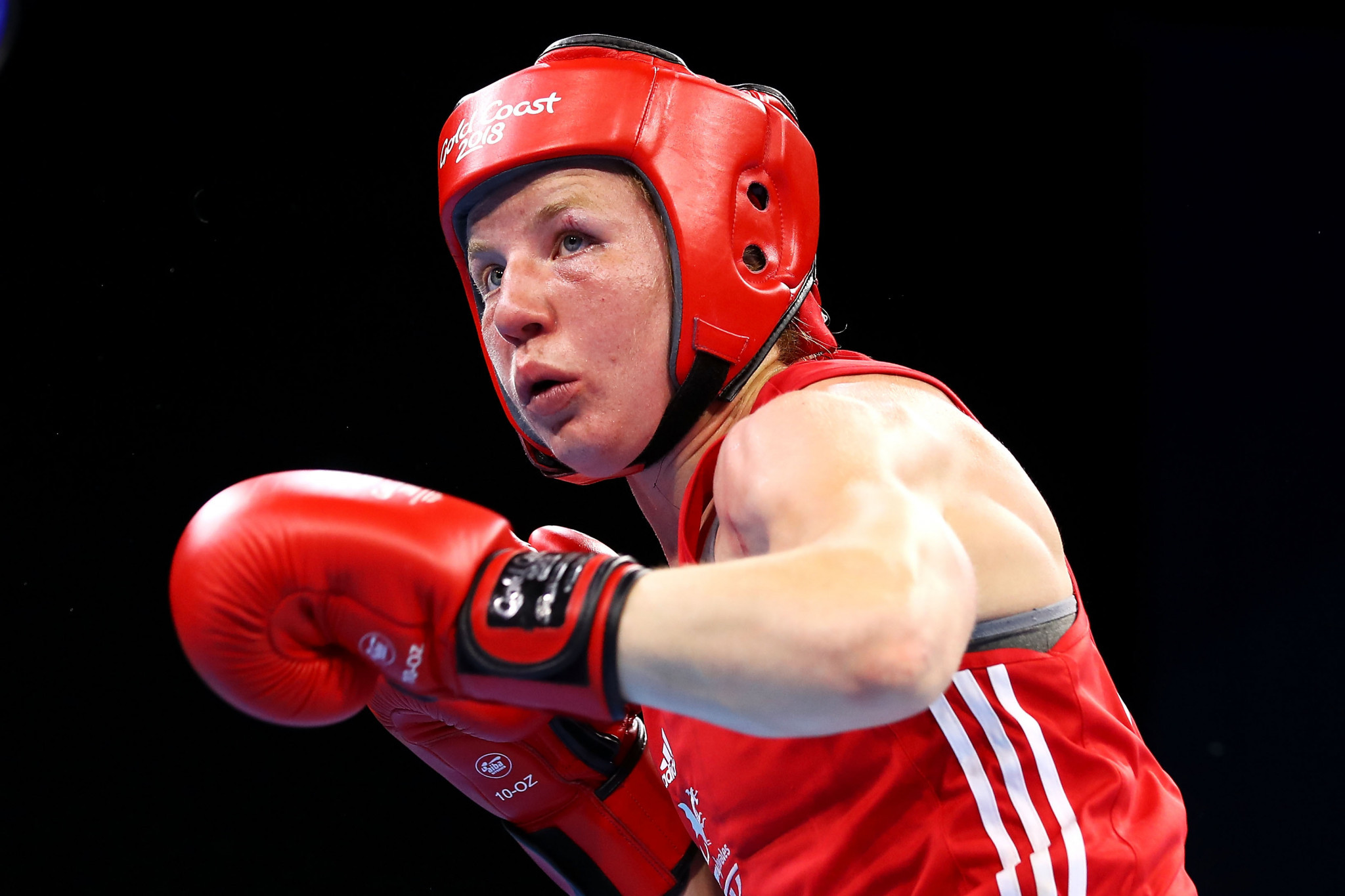 Rosie Eccles of Wales crashed out of the AIBA Women's World Championships ©Getty Images