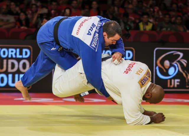 Riner claims heavyweight gold as IJF Grand Slam concludes in Brasilia