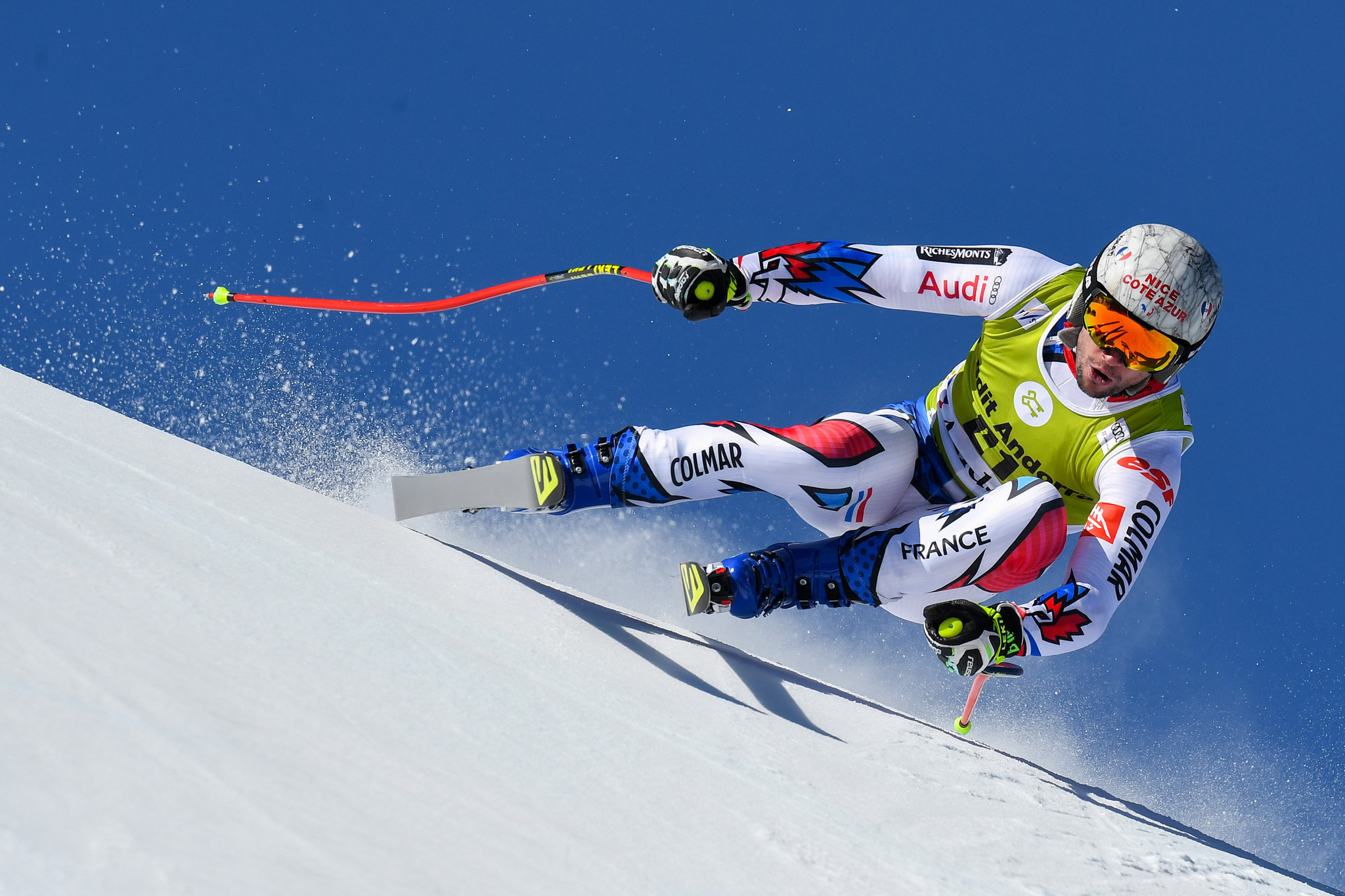 Soldeu in Andorra staged this year's Alpine Skiing World Cup finals in March ©Getty Images