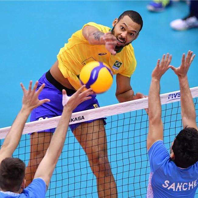 Brazil maintain perfect record at FIVB Men's World Cup