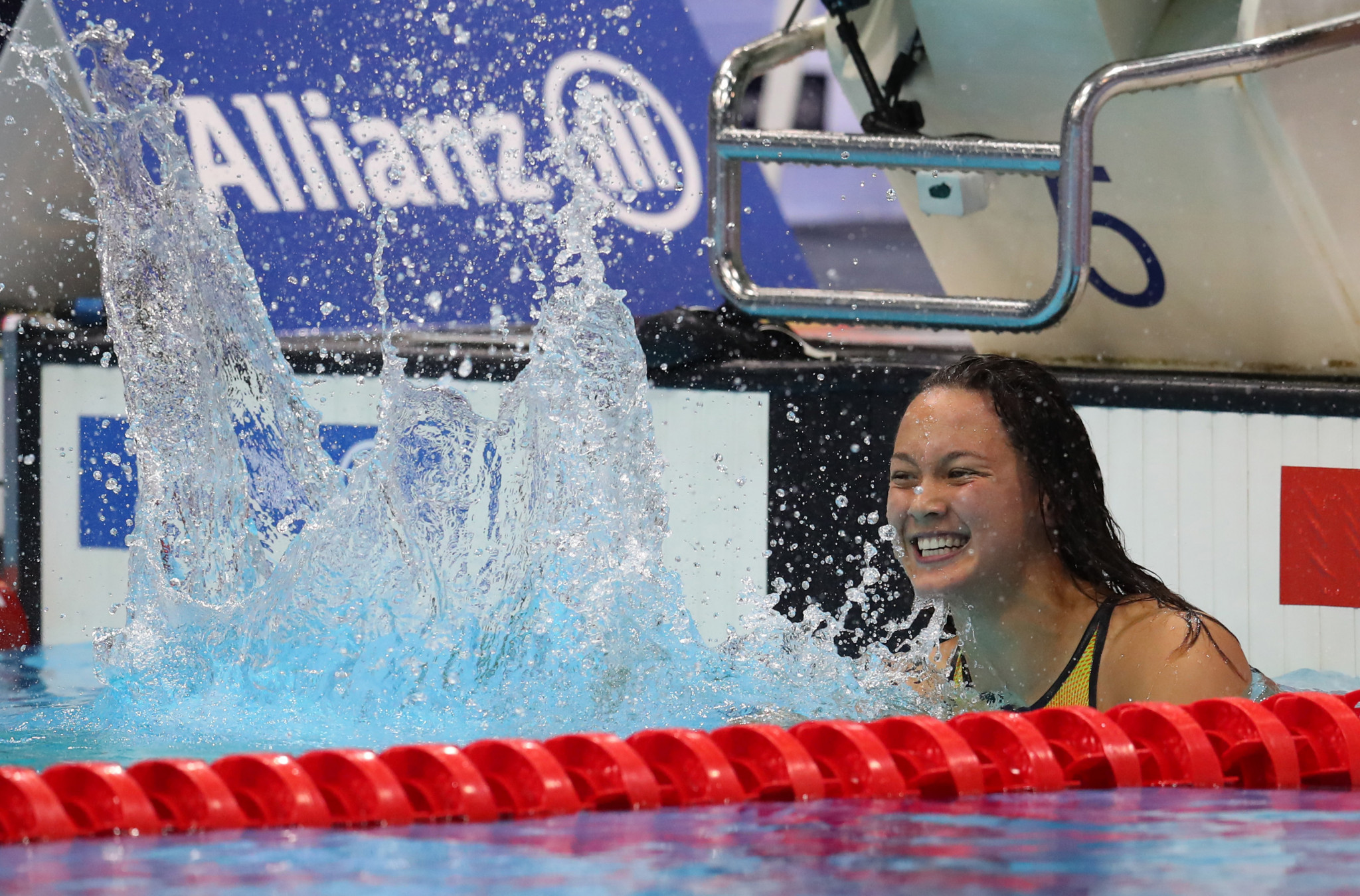 Alice Tai from Britain won seven gold medals at the World Para Swimming Championships in London ©Getty Images