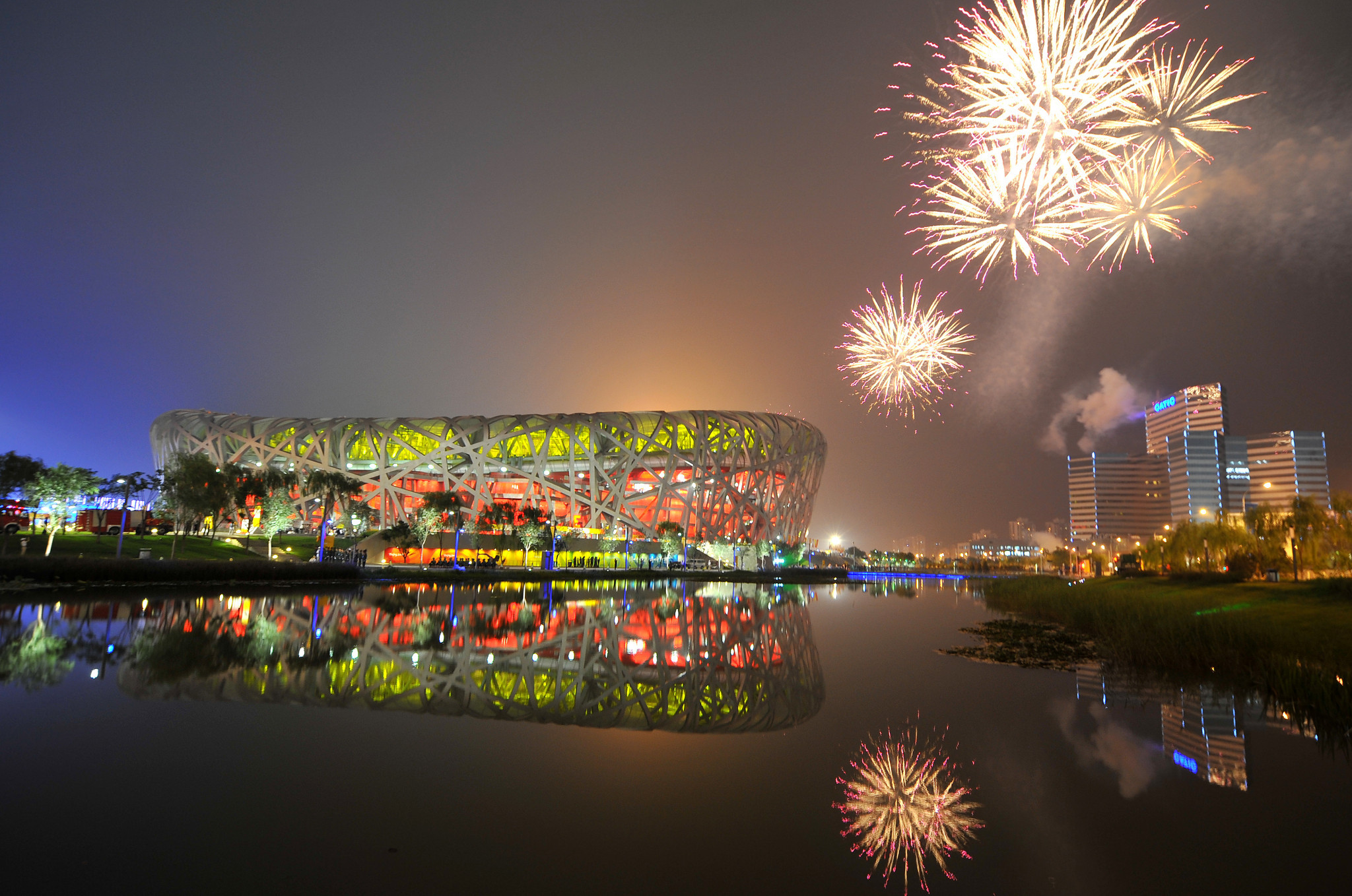 The Beijing 2008 Olympic Games changed the business face of sport in China ©Getty Images