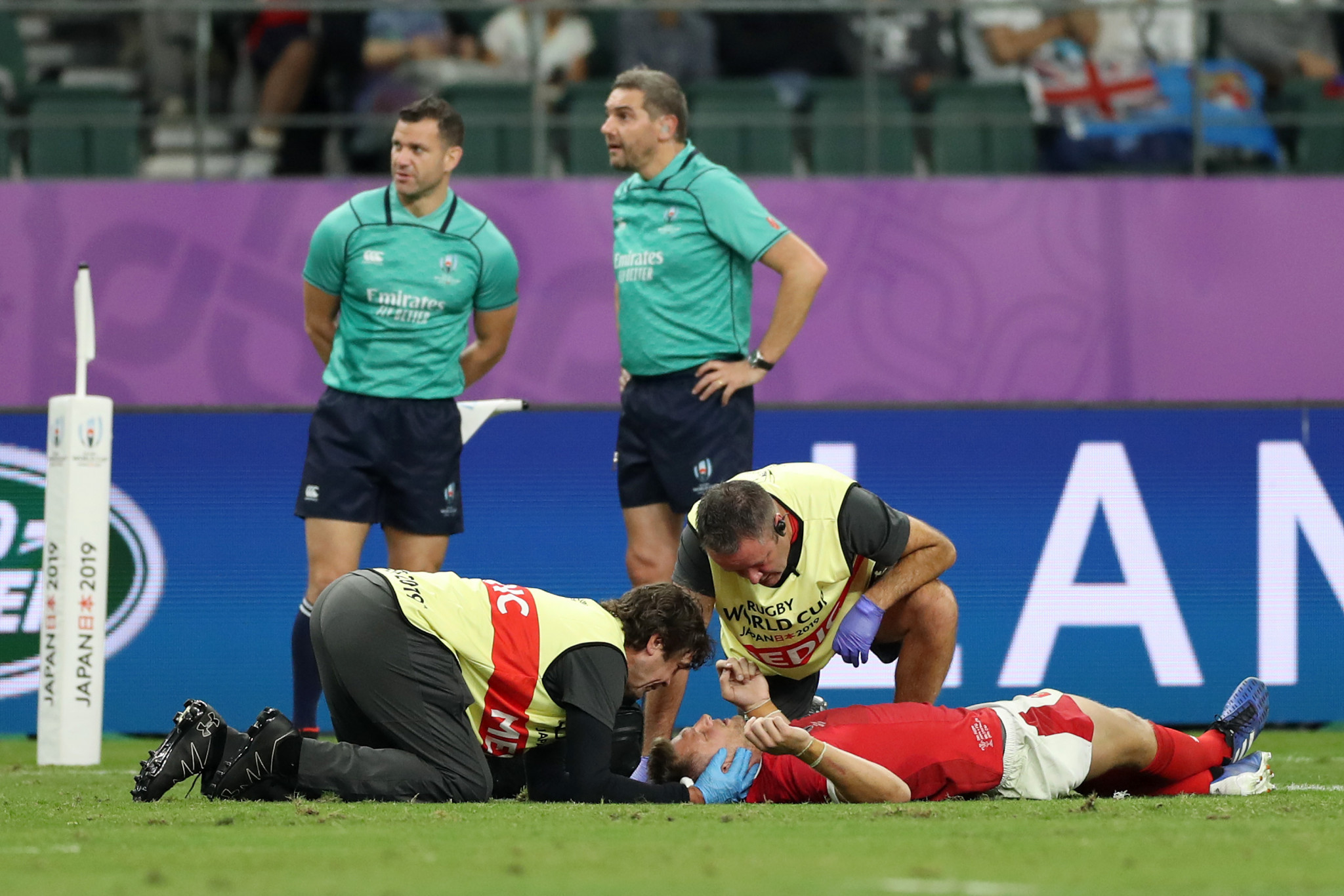 Wales fans will be concerned about the injury status of Dan Biggar ©Getty Images