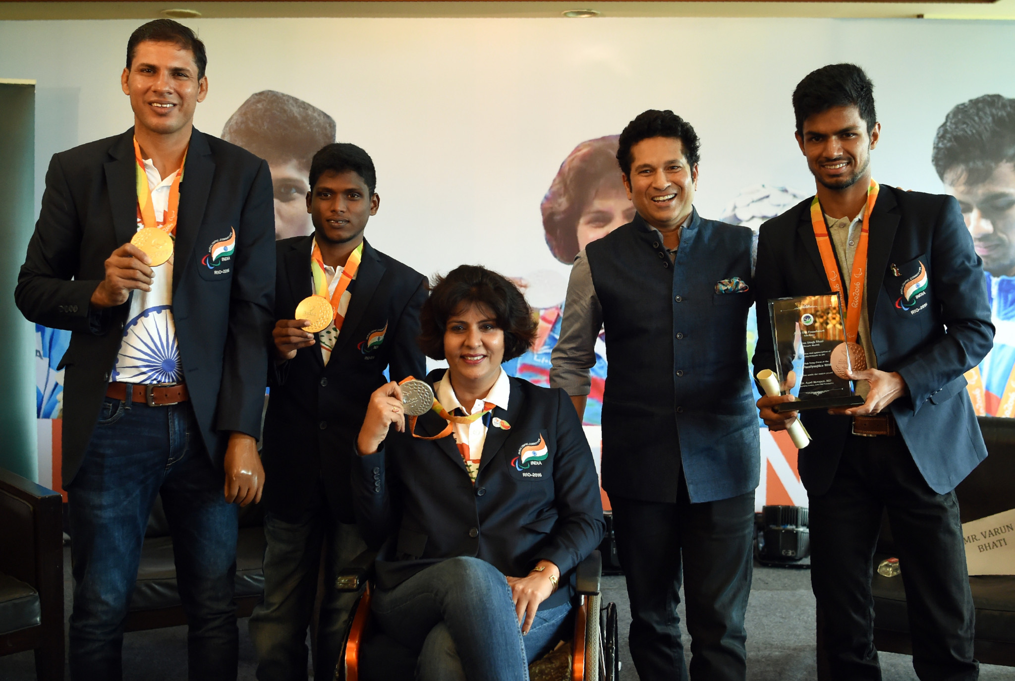 Deepa Malik became the first woman to win a Paralympic medal for India, at Rio 2016 ©Getty Images