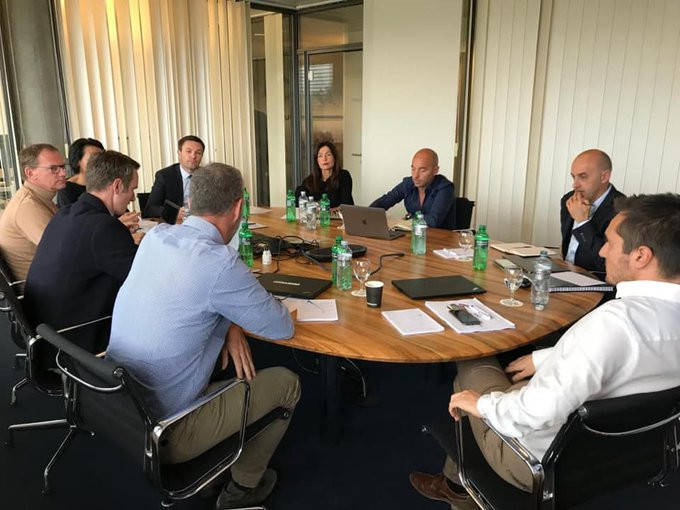 The meeting was held at the UCI's headquarters in Aigle in Switzerland ©CPA Cycling/Twitter