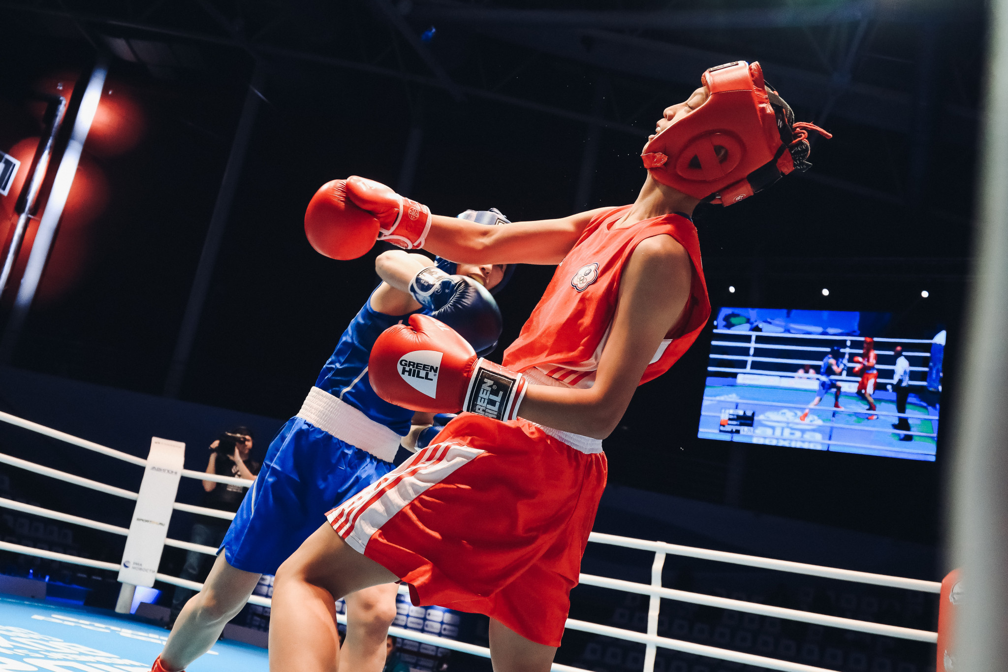 Team mate Wu Shih-Yi did not fare as well in the lightweight division ©AIBA