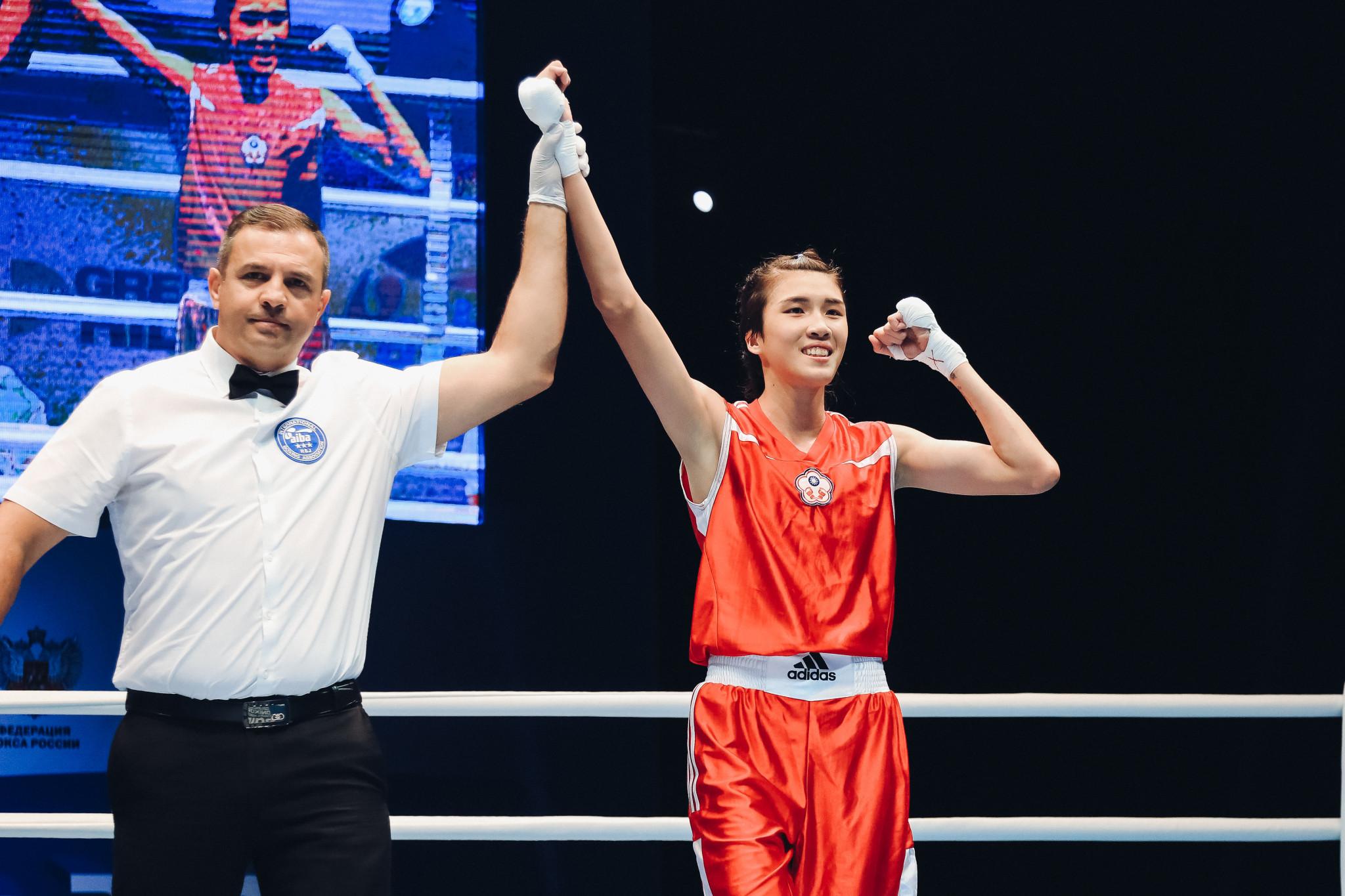 She unanimously defeated Giordana Sorrentino of Italy ©AIBA