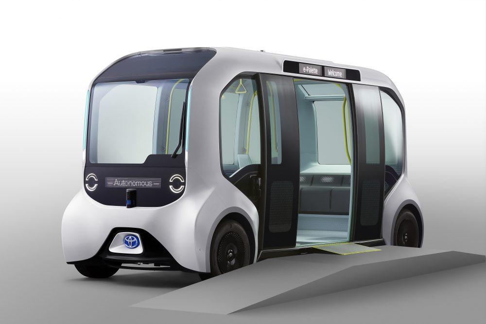 Autonomous Toyota e-Palette to transport Tokyo 2020 athletes