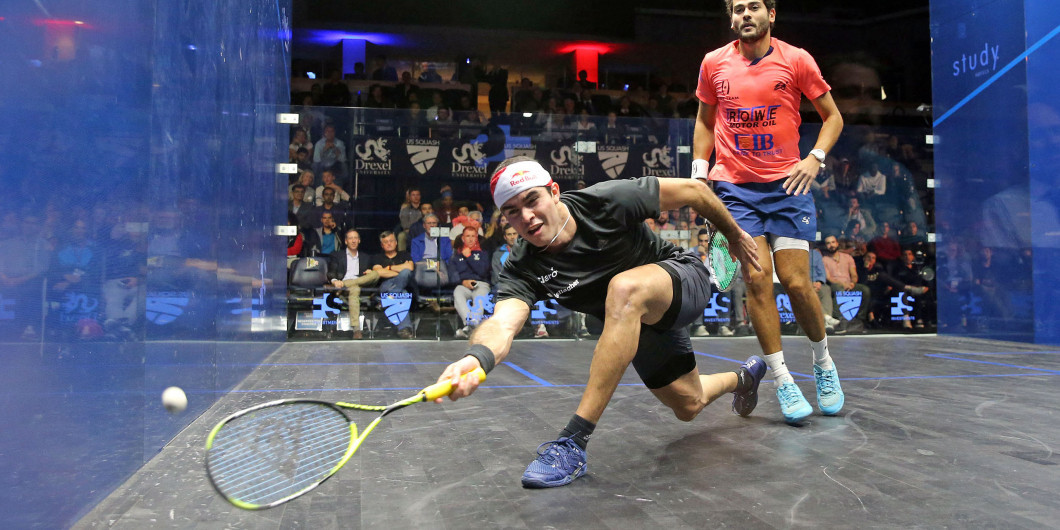 Elias ousts Gawad to book last-four spot at PSA US Open