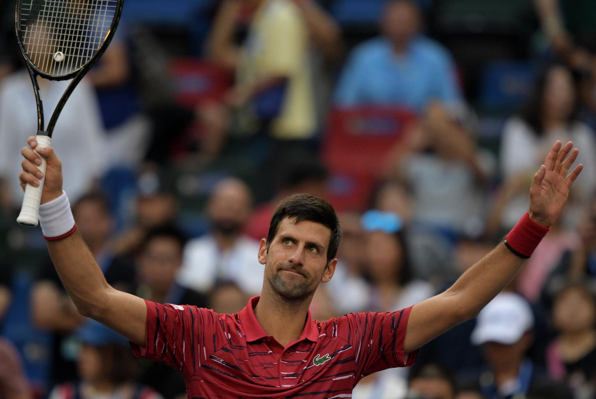 Impressive Djokovic through to quarter-finals at Shanghai Masters