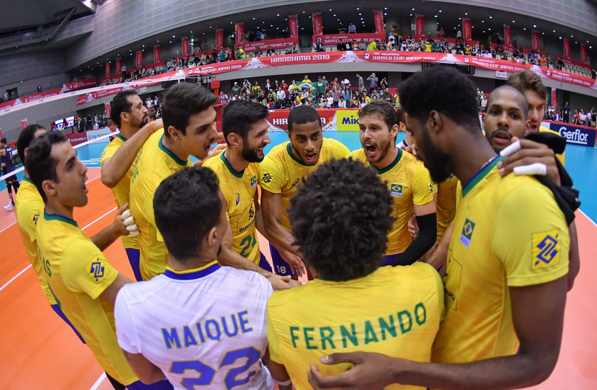Brazil beat United States to continue superb form at FIVB Men's World Cup