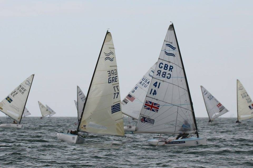 Scott claims outright lead at Finn Gold Cup as weather disrupts racing