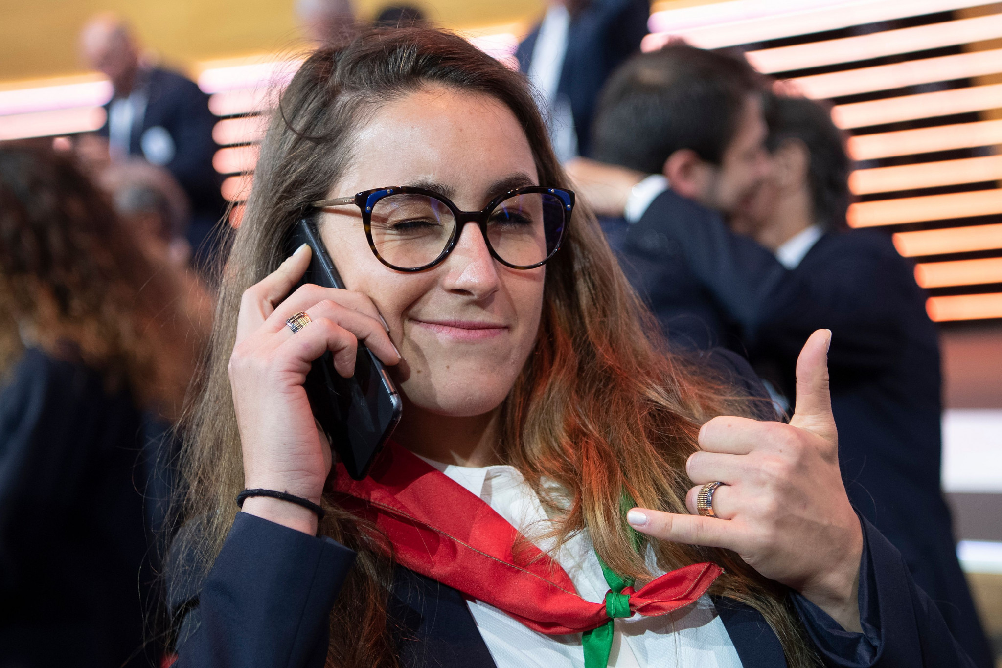 Sofia Goggia, who supported Milan Cortina's bid for the 2026 Winter Olympics, will contribute to the app ©Getty Images