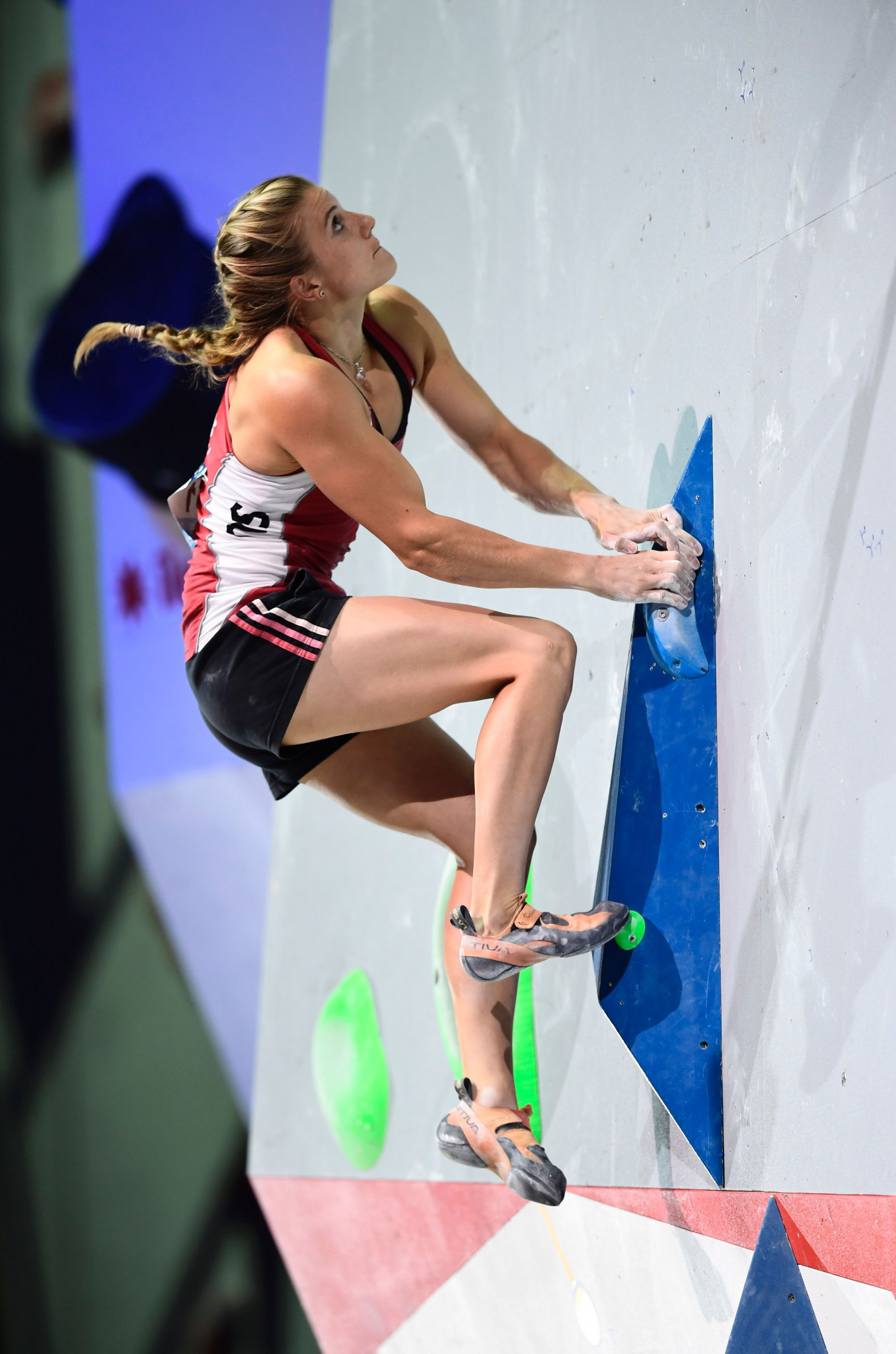 Sports climber Petra Klinger, the first Swiss selection for Tokyo 2020 ©Getty Images