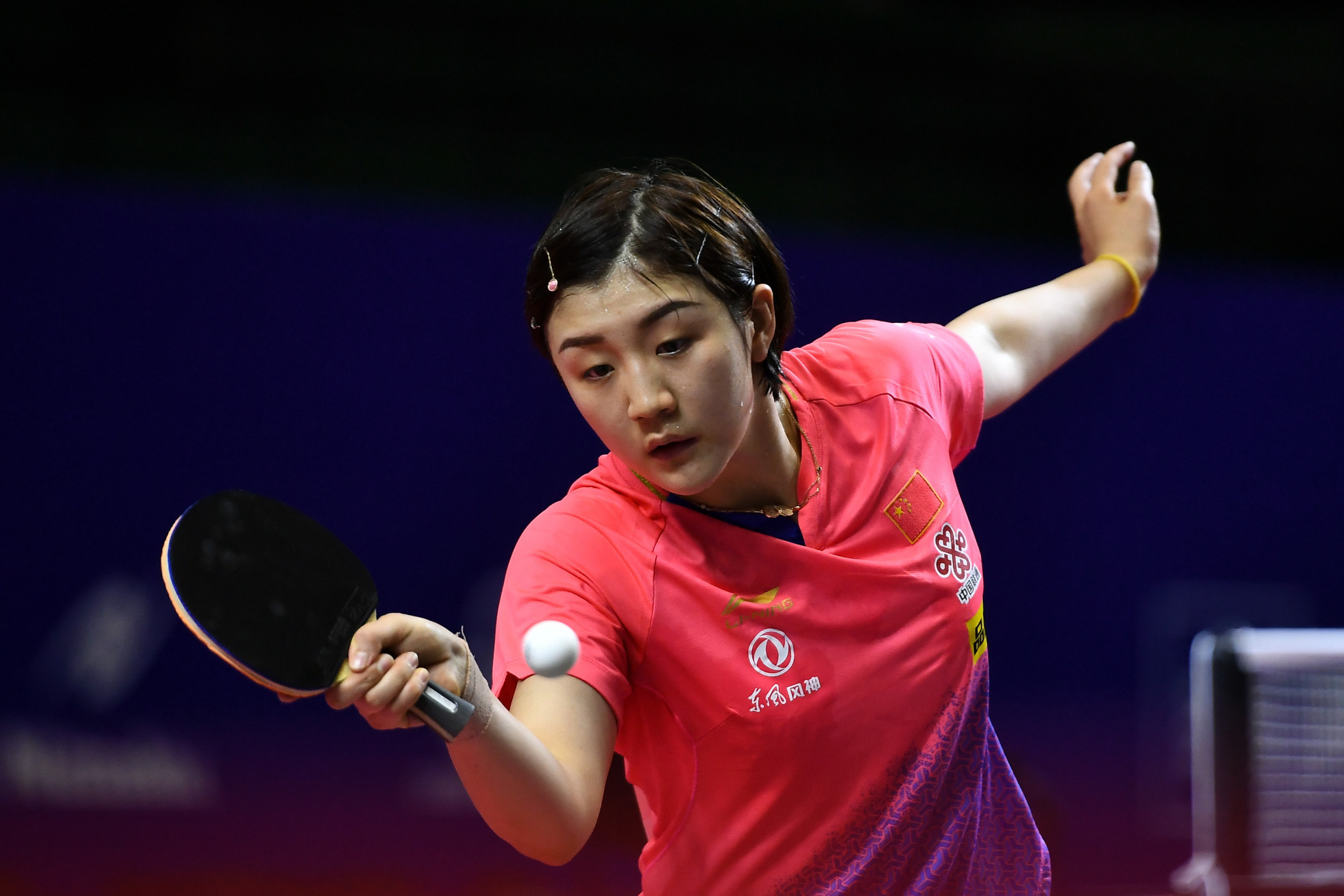 Chen Meng is through to the last 16 of the women's singles event ©Getty Images