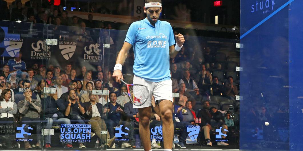ElShorbagy advances to PSA US Open semi-finals