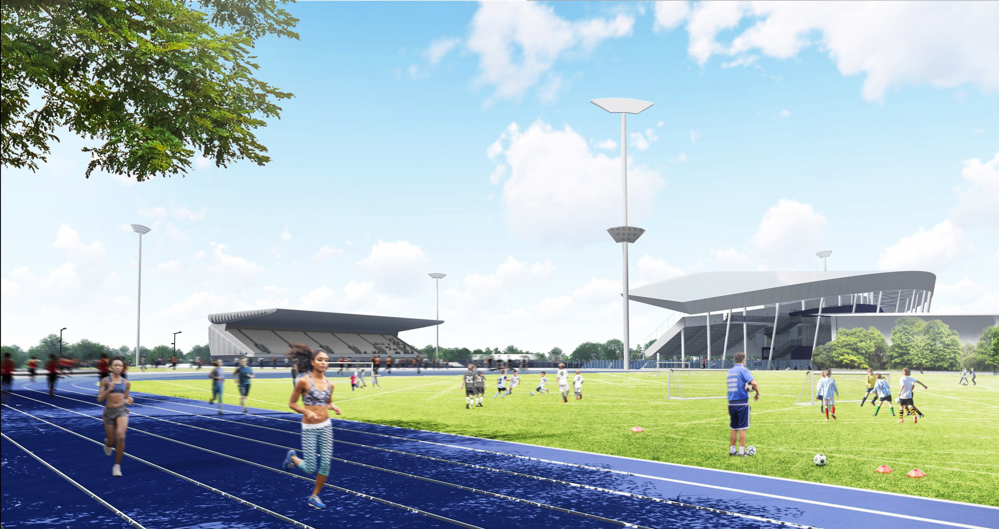 It is hoped the Alexander Stadium will become a high-quality venue for diverse sporting, leisure, community and cultural events in the decades to come ©Birmingham City Council