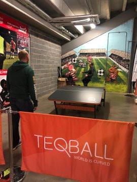 Teqball is a new football-based sport ©TEQBALL/Twitter