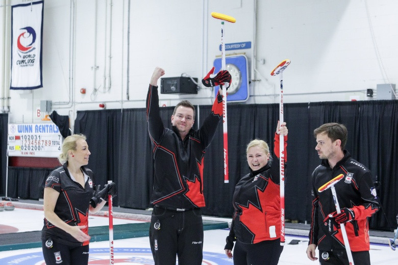 Canada to begin World Mixed Curling Championship title defence