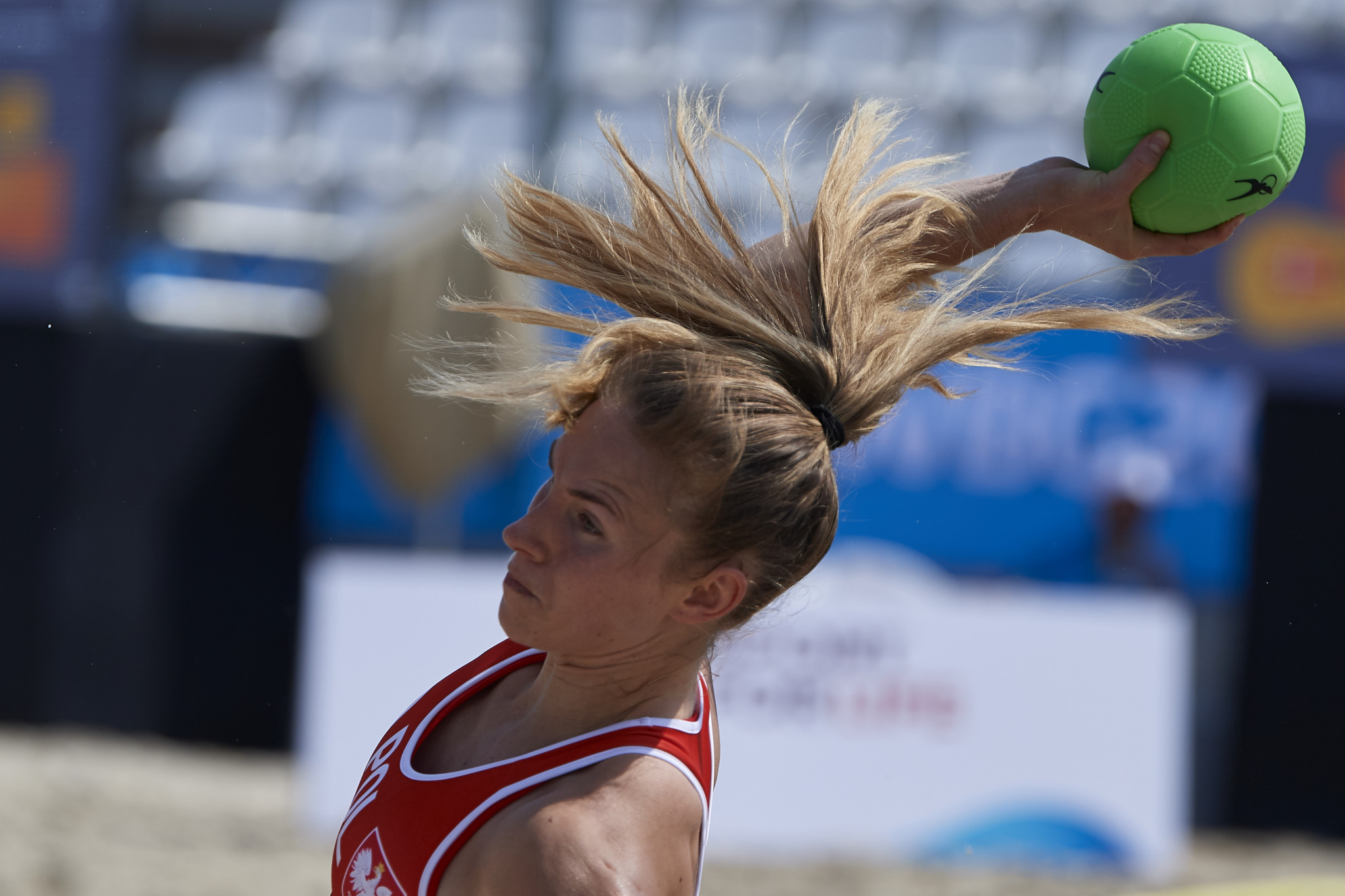 Beach handball competition has begun before the Opening Ceremony tomorrow ©ANOC World Beach Games