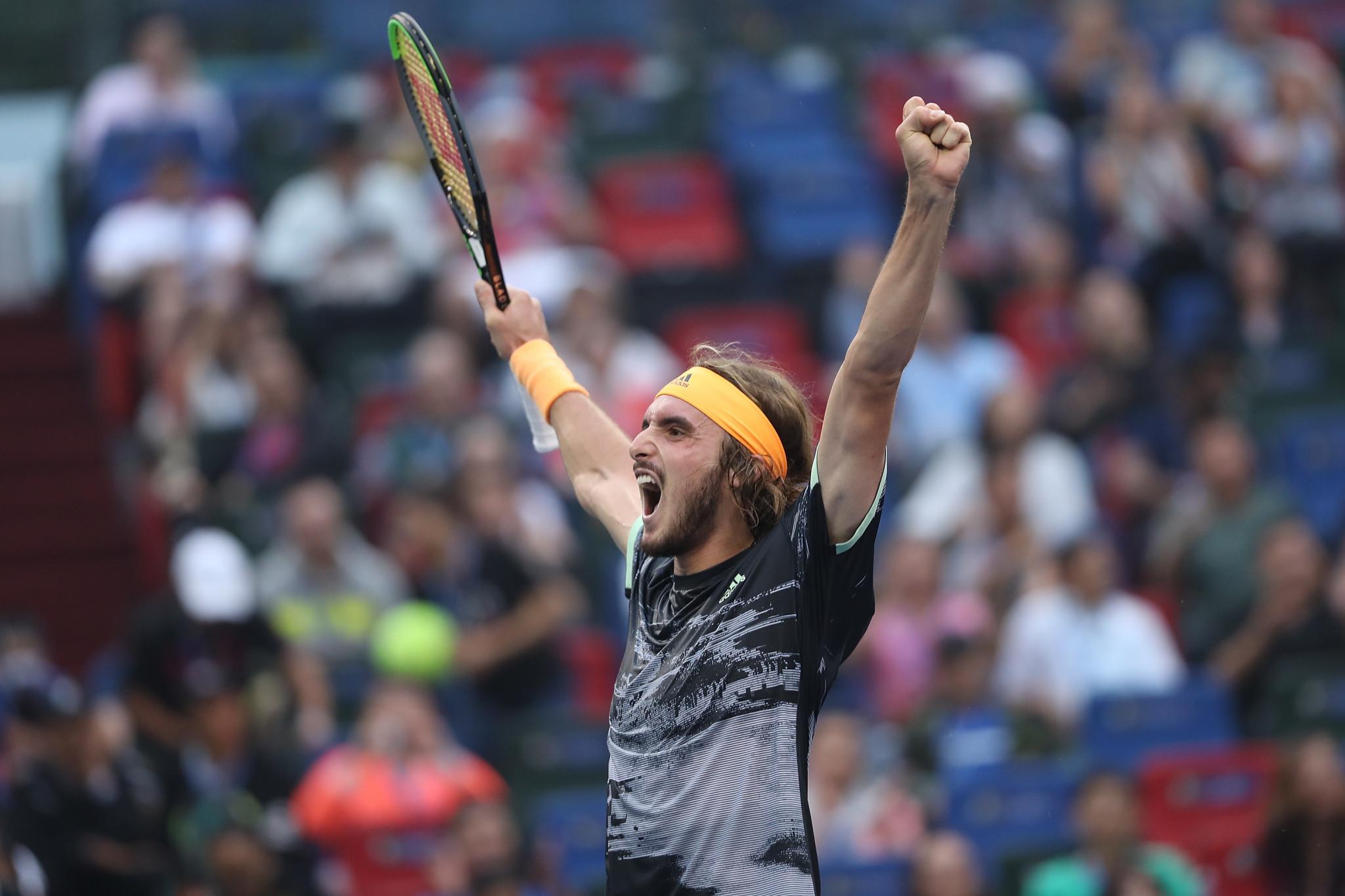 Tsitsipas stuns Djokovic to reach semi-finals at Shanghai Masters