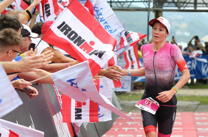 Switzerland's Daniela Ryf will seek a fifth women's title ©Getty Images