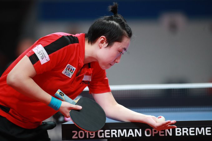 Feng thumps top seed Chen to earn quarter-final place at ITTF German Open