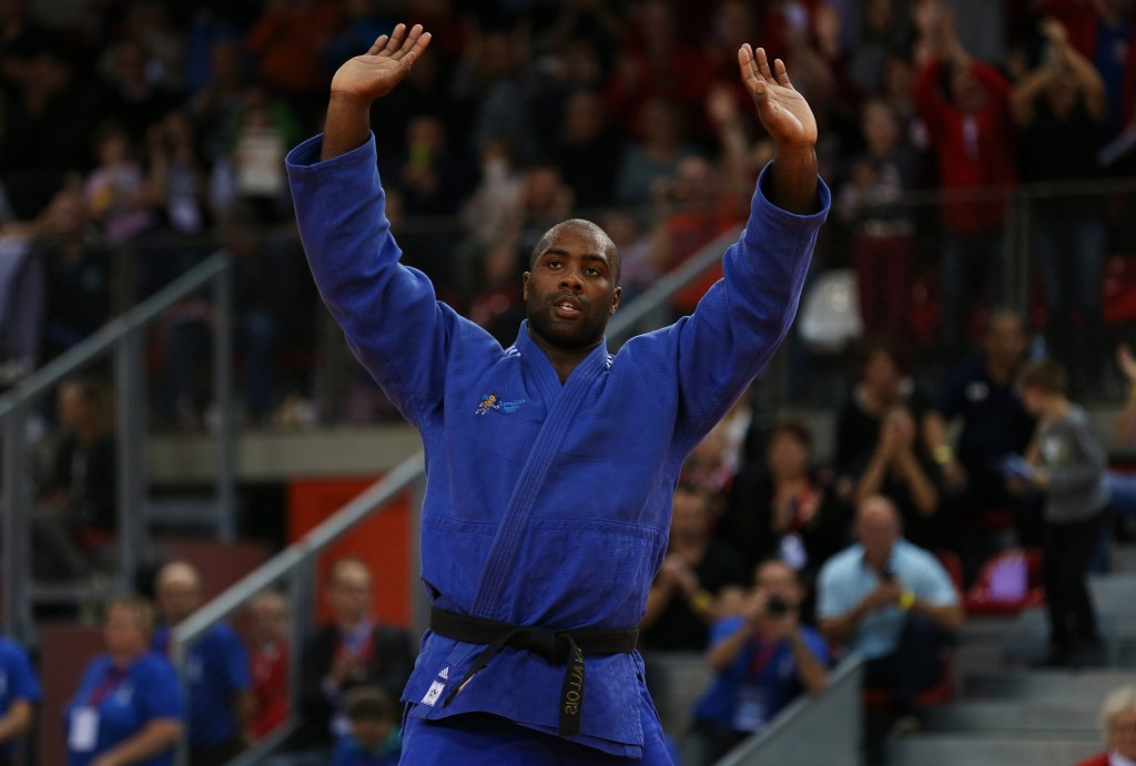 World champion Riner aims to end season on a high at final IJF Grand Prix in Jeju
