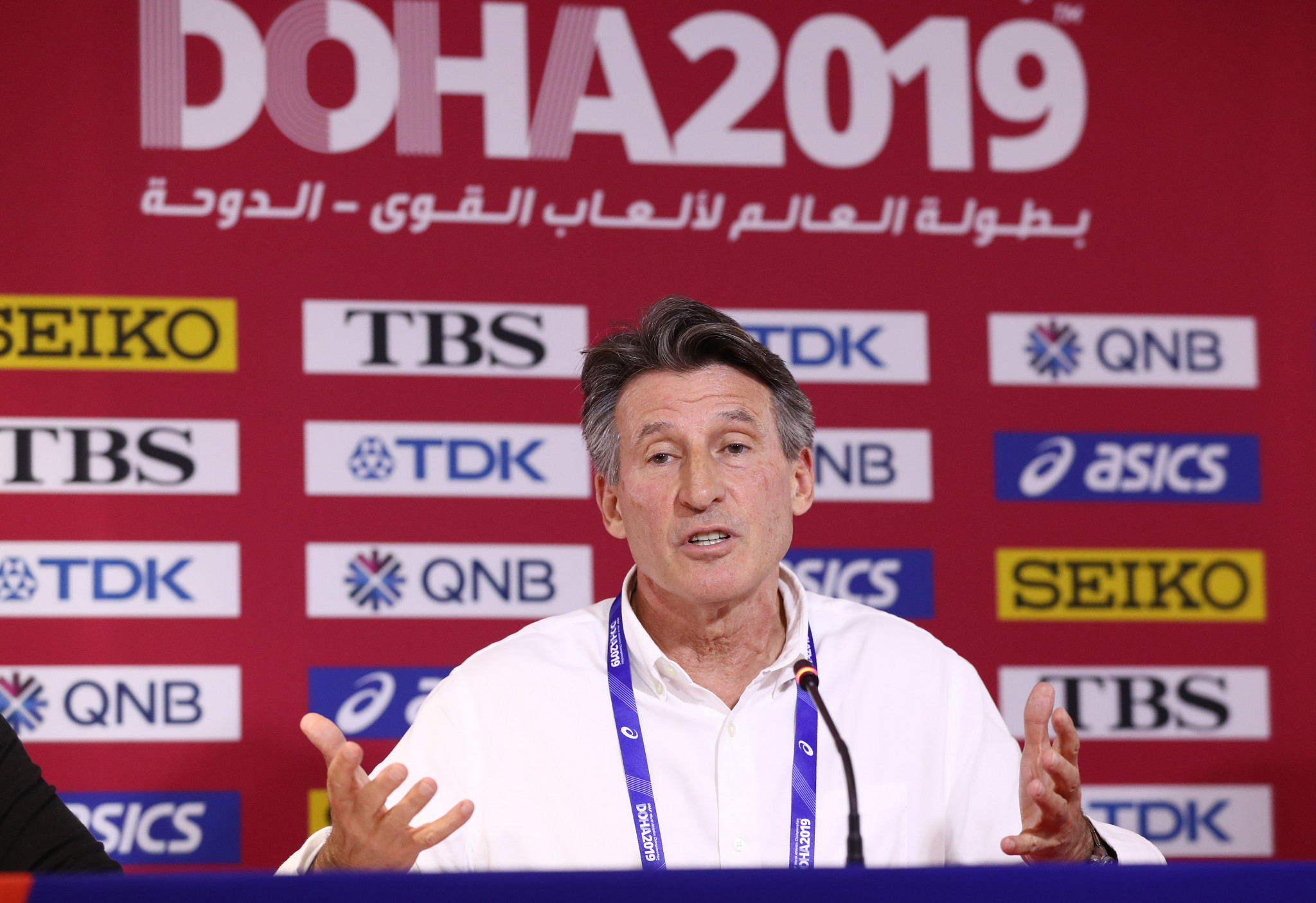 Sebastian Coe warned a potential postponement of the Olympics to 2021 would be complicated ©Getty Images