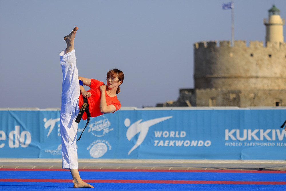 The third World Taekwondo Beach Championship, being held in the Red Sea resort  of Sahl Hasheesh, has attracted some of the world's finest young exponents of the sport ©World Taekwondo