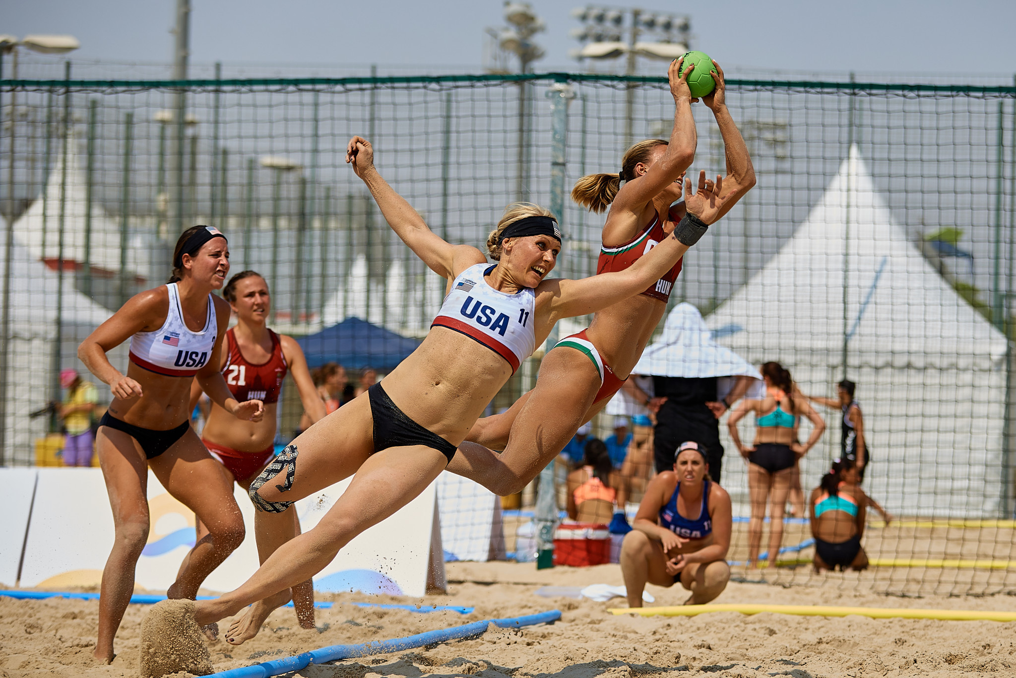 Sport begins at ANOC World Beach Games day before Opening Ceremony