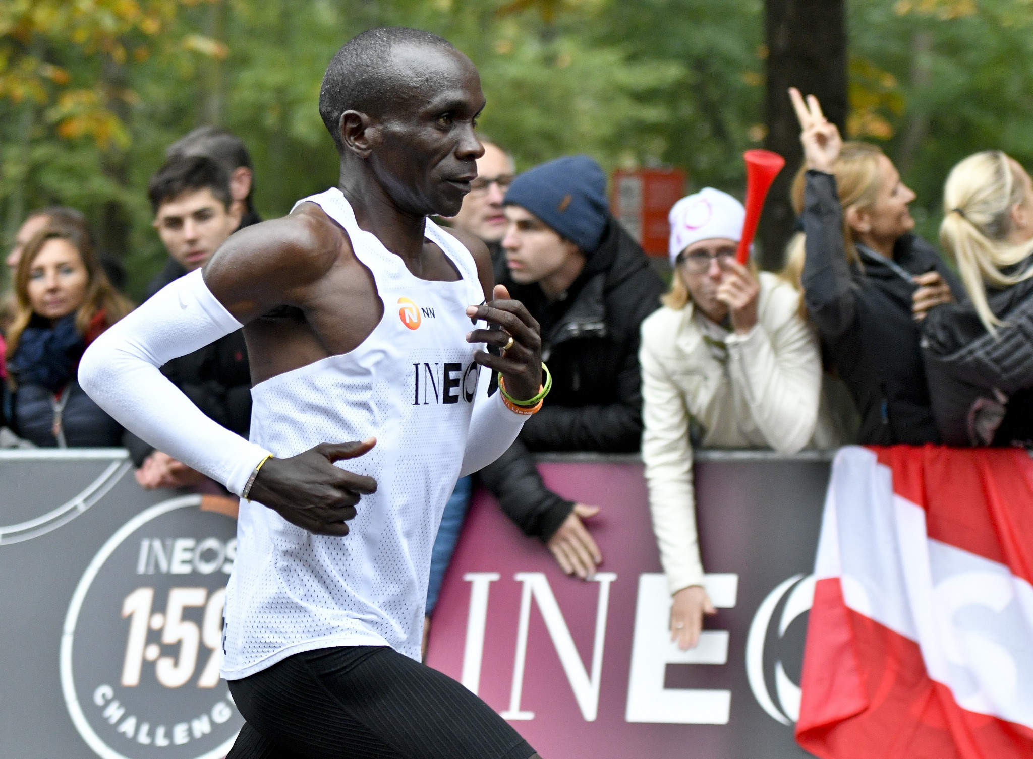 Kipchoge smashes two-hour barrier for marathon in Vienna