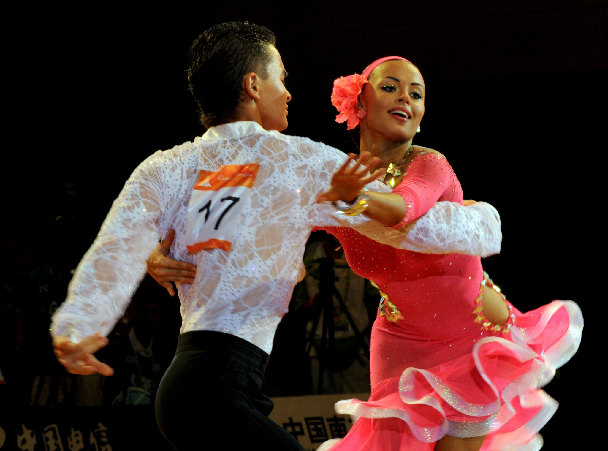 Dancesport has only appeared at the Asian Games once when China won all 10 gold medals at Guangzhou 2010