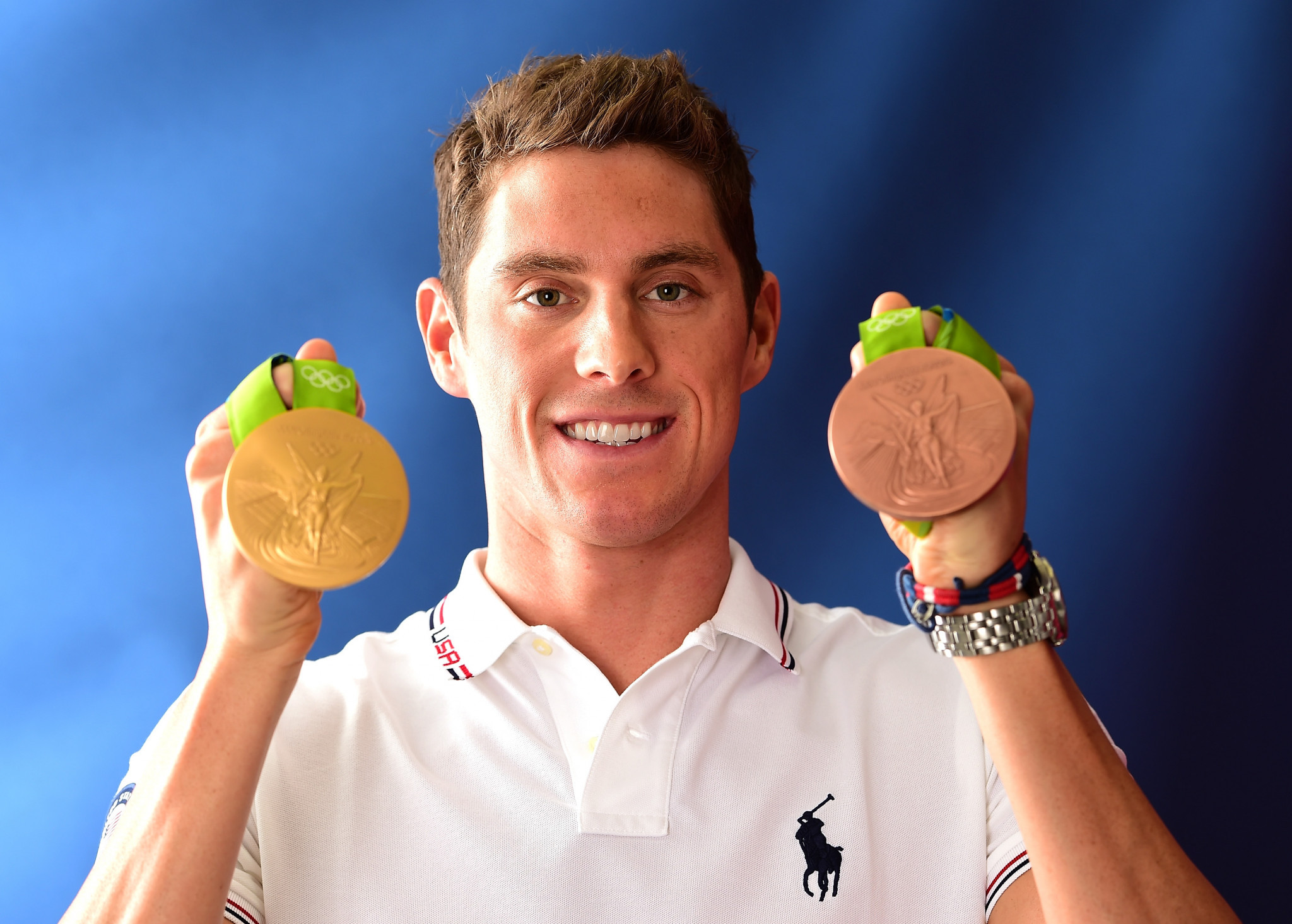 Conor Dwyer won relay gold and individual bronze at the 2016 Olympic Games in Rio ©Getty Images