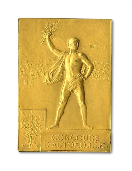 Rare Paris 1900 Olympic gold medals feature in memorabilia auction