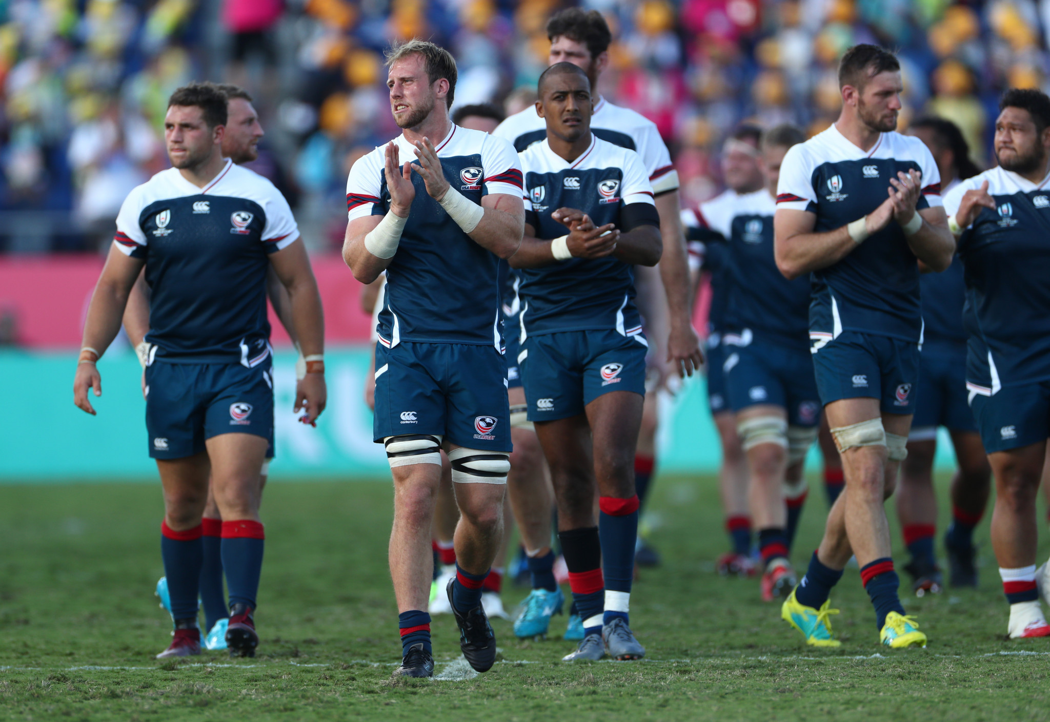 Tomorrow's clash with Tonga is hugely important to a beleaguered United States squad ©Getty Images