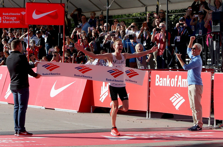 A serious heel operation and the banning of his long-time coach Alberto Salazar have made life more challenging for Galen Rupp since his Chicago Marathon victory in 2017 ©Getty Images