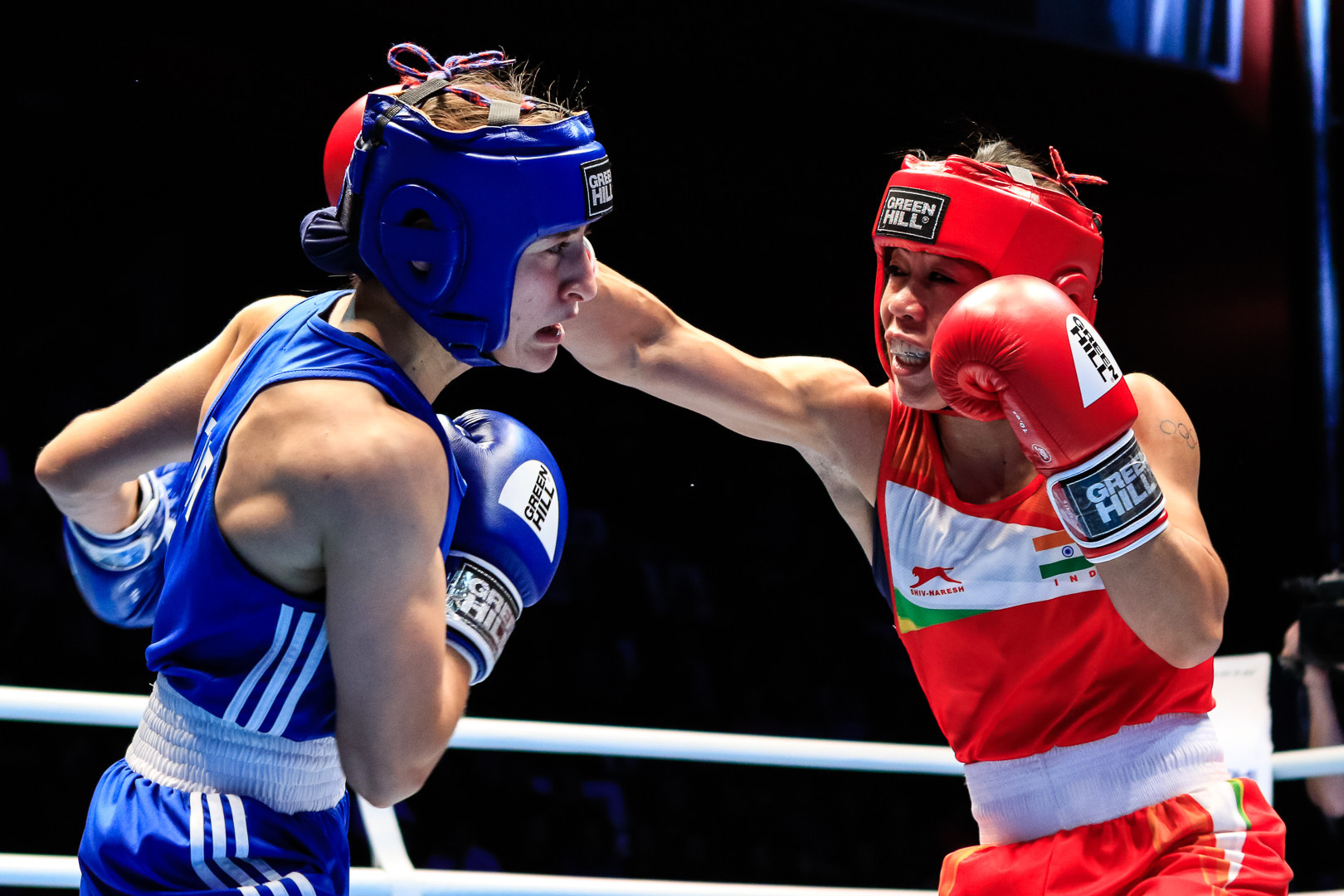 Çakıroğlu won the bout 4-1, with Kom filing a protest which was also rejected ©AIBA