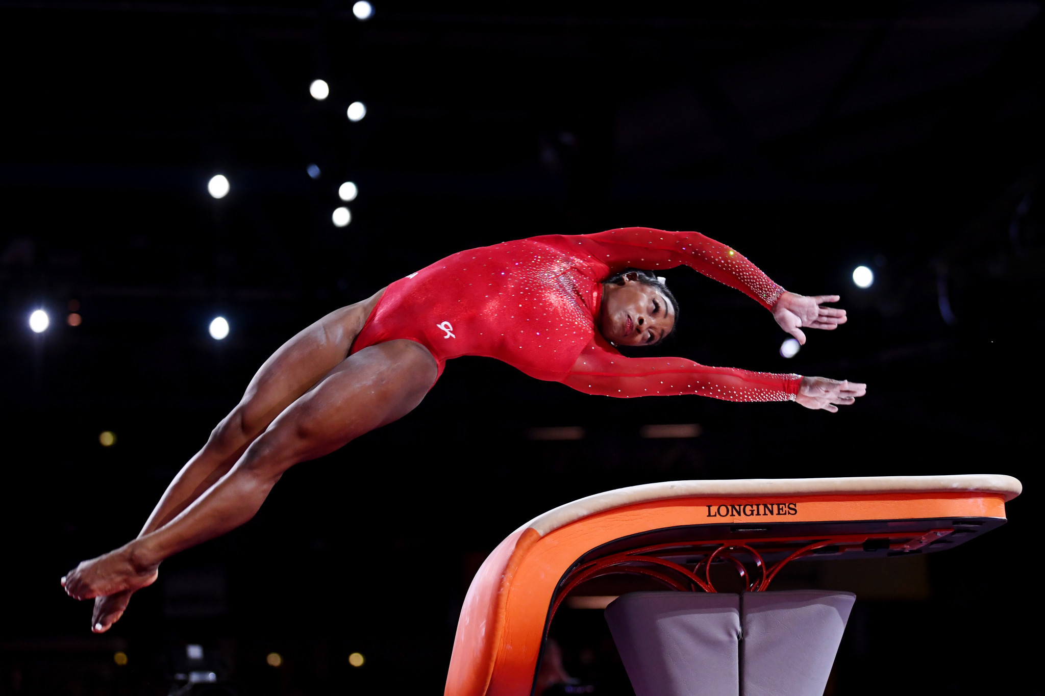 Biles and Whitlock on top of the world again