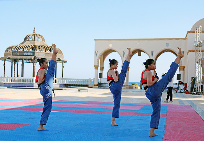 Thailand claims 12 more poomsae golds on day two of World Taekwondo Beach Championship