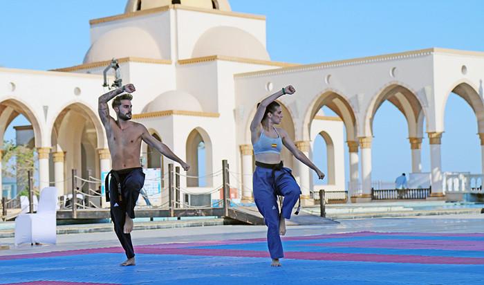 Spain were among teams taking part in the Beach Taekwondo World Championships in Egypt ©World Taekwondo