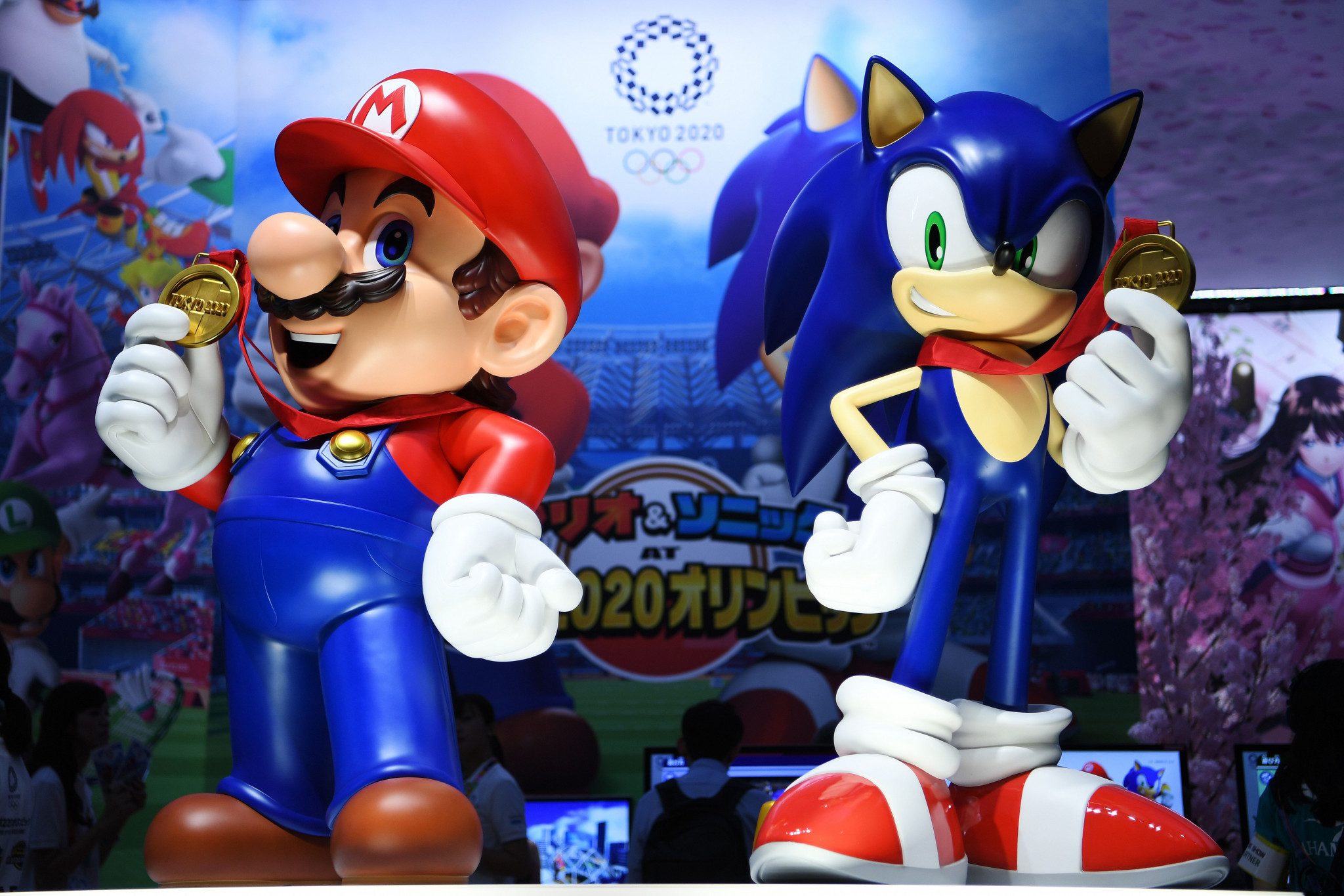 Mario And Sonic At The Olympic Games 2020.Mario And Sonic Set For Tokyo 2020 Battle As Nintendo