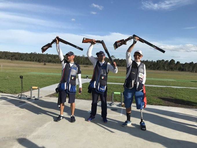 Nespeca equals world record at World Shooting Para Sport Championships