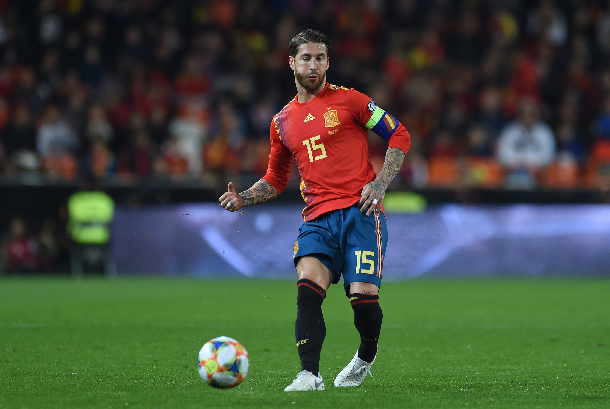 Ramos hints at wish to represent Spain in Olympic football event at Tokyo 2020