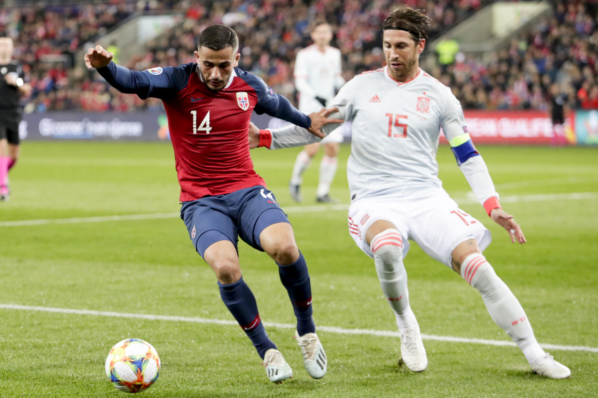 Sergio Ramos described playing for Spain at Tokyo 2020 as a