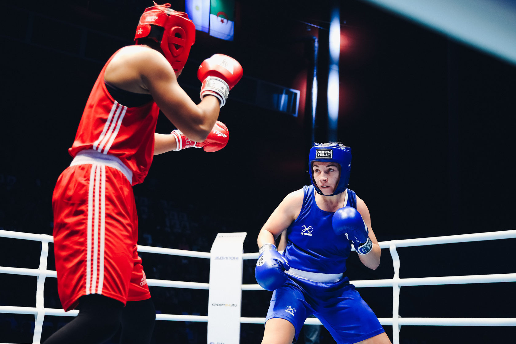 Lauren Price of Wales claimed the middleweight title at the AIBA Women's World Championships ©AIBA