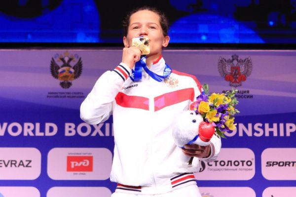 Liliya Aetbaeva earned gold for Russia in the flyweight division ©Russian Boxing Federation